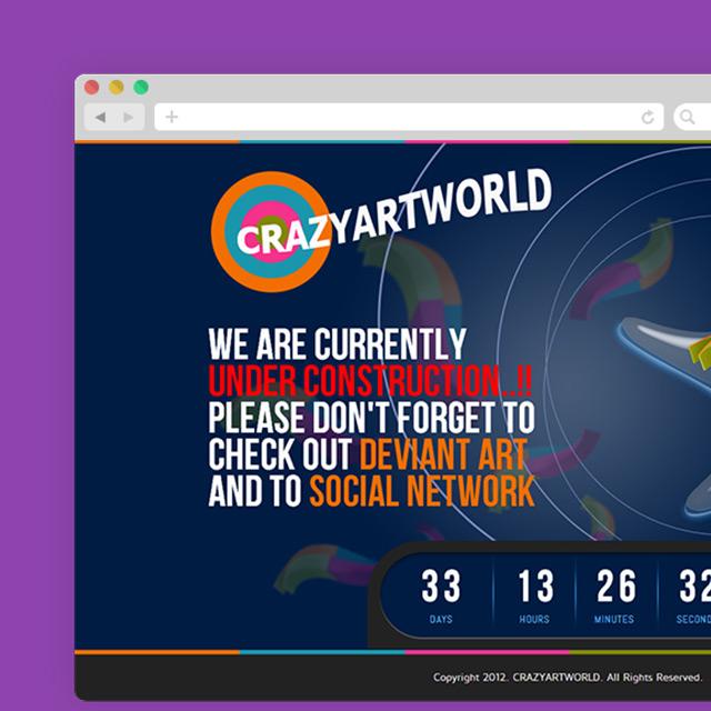CrazyArtWorld