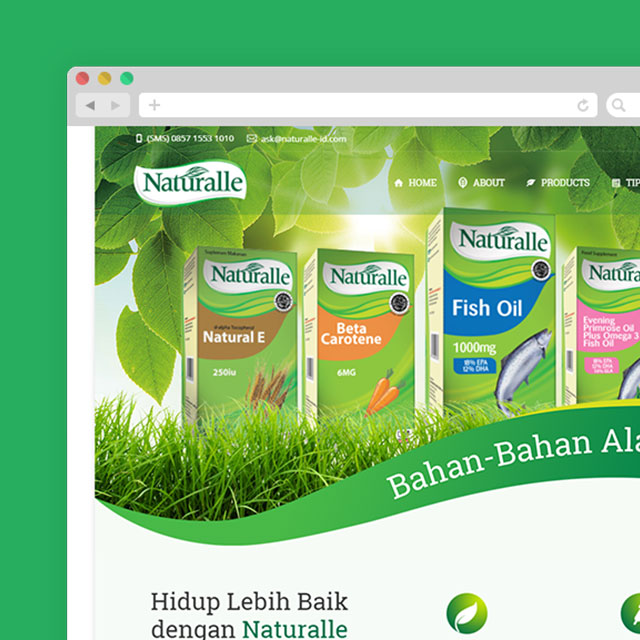 Naturalle Website